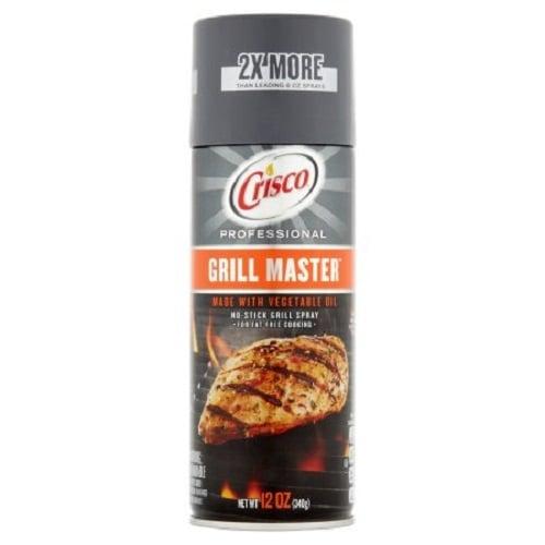 Dầu xịt Crisco Grill Master 340g