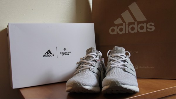 newest 6c13d e1d48 adidas ultra boost 3.0 reigning champ grey