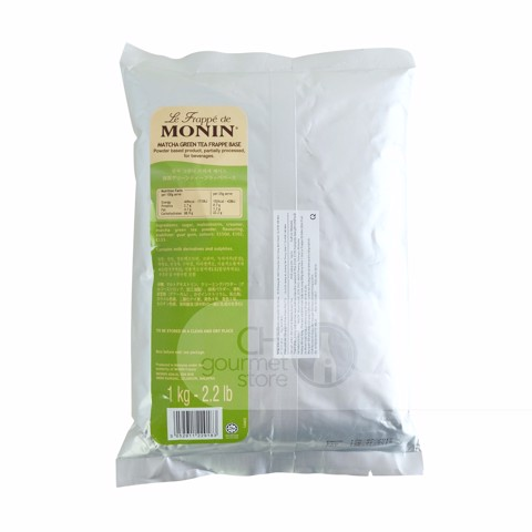 Bột Frappe Matcha Green Tea 1000g - Monin