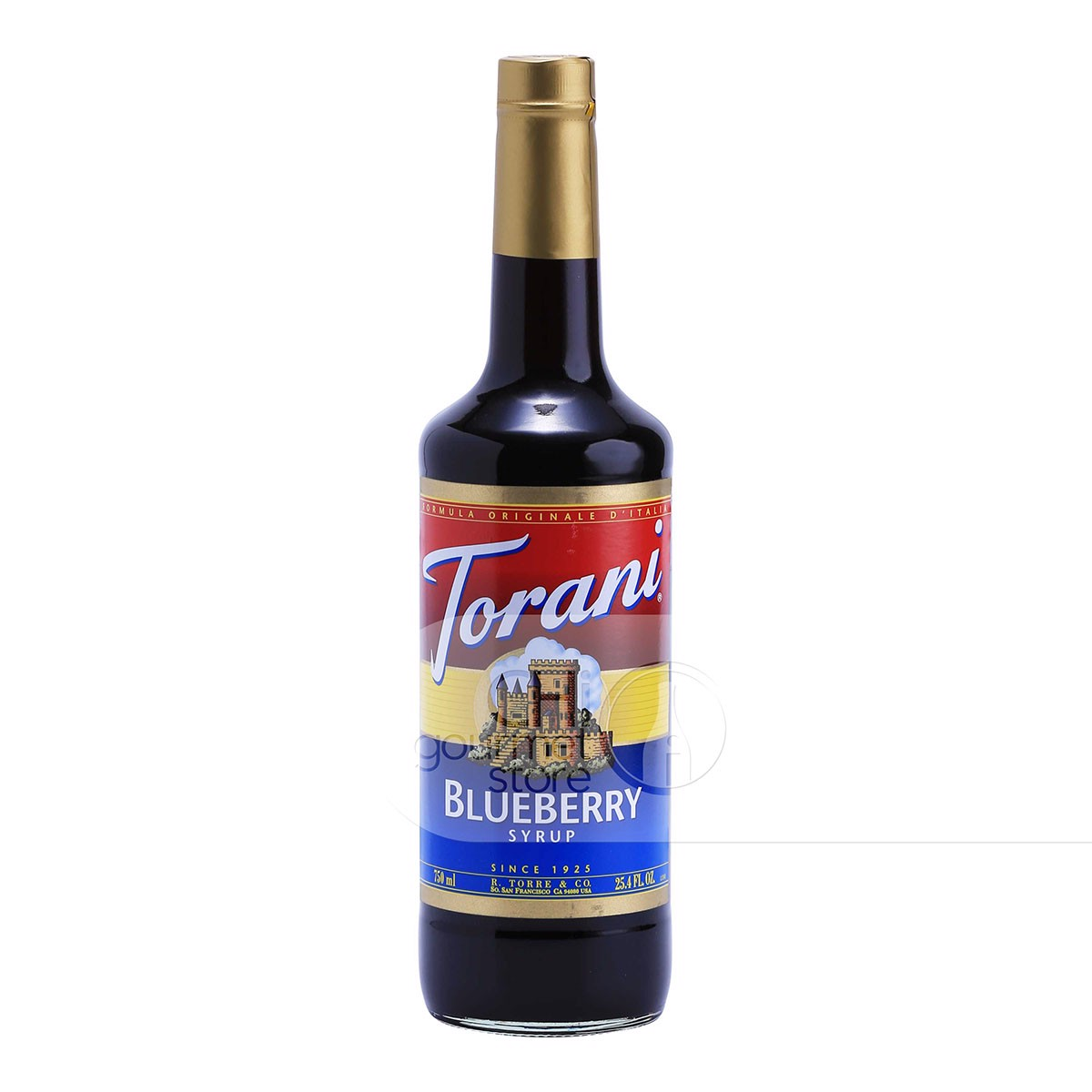 Syrup Blueberry 750ml - Torani