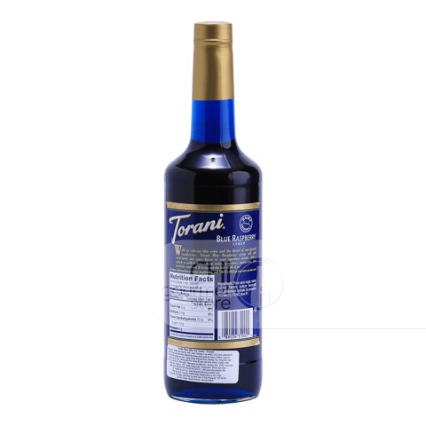 Syrup Blue Raspberry 750ml - Torani