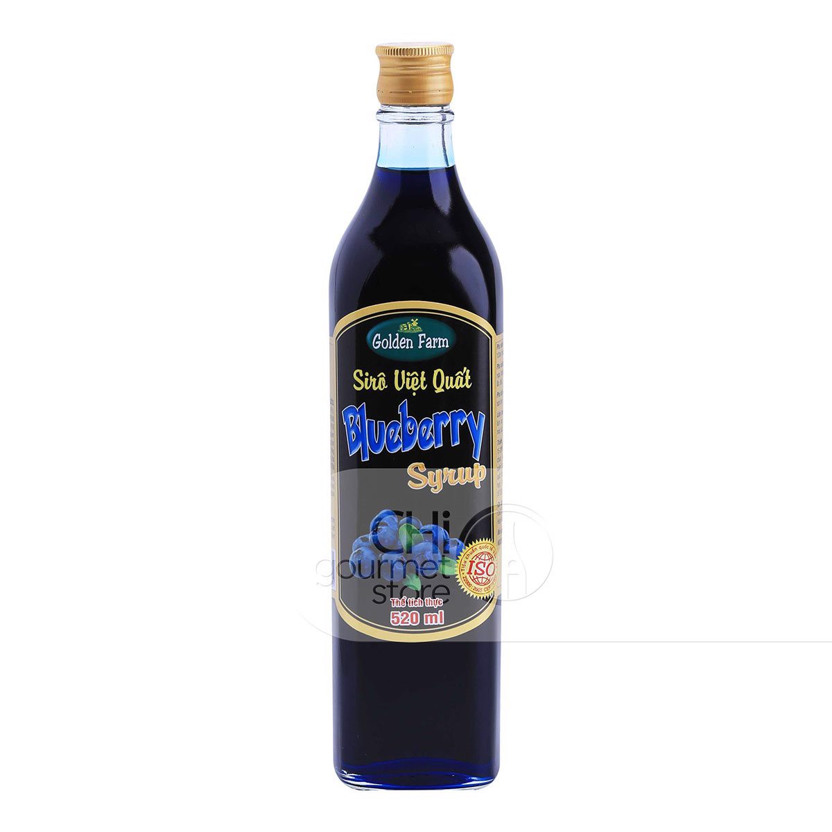 Syrup Việt Quất 520ml - Golden Farm