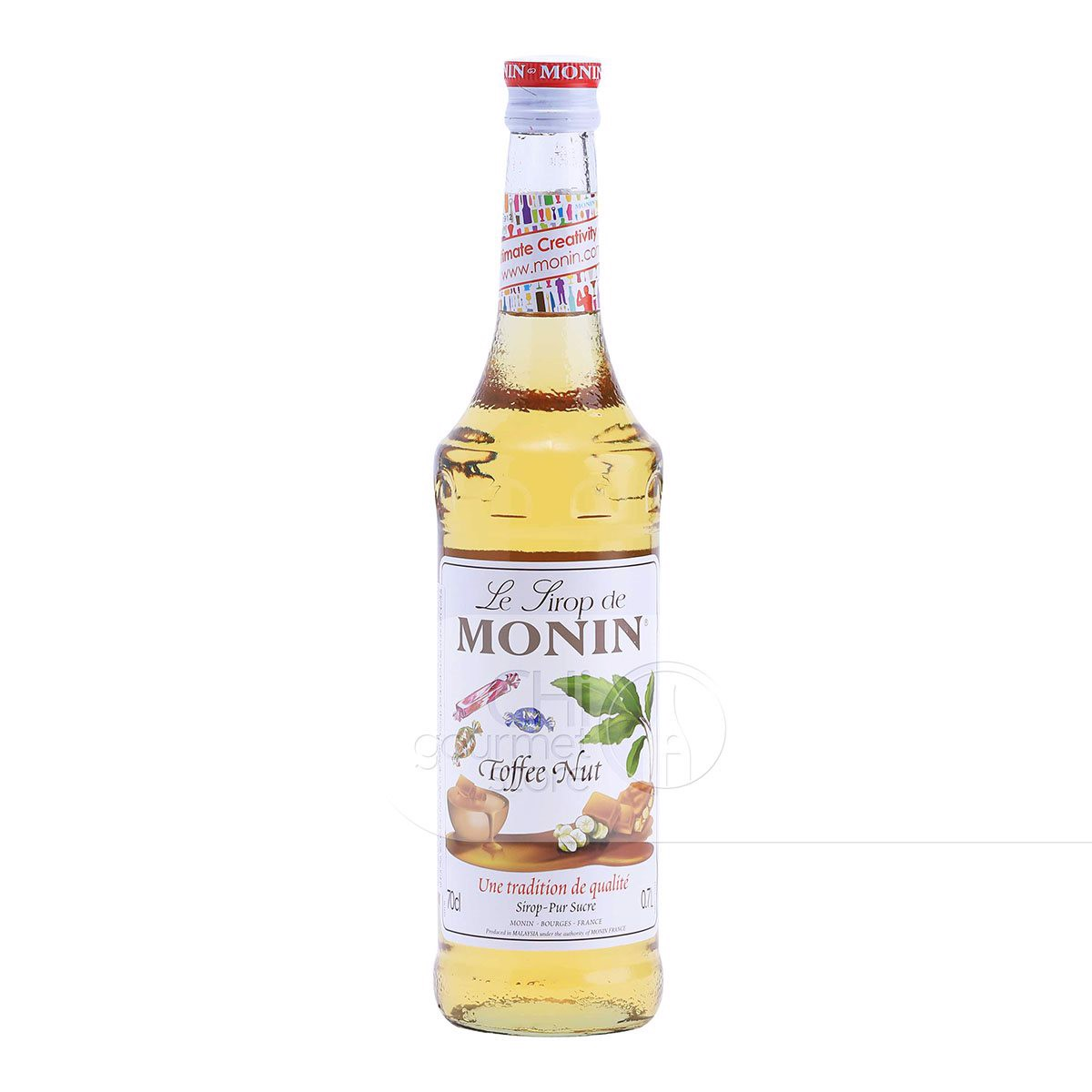 Syrup Toffee Nut 700ml - Monin
