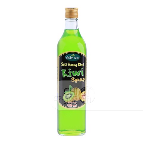 Syrup Kiwi 520ml - Golden Farm