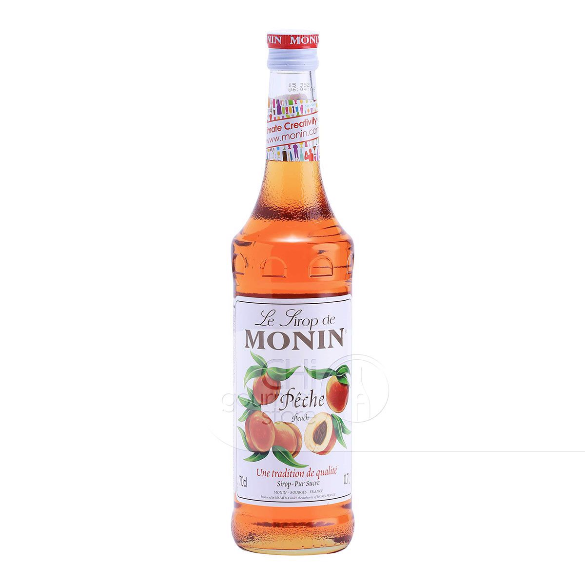Syrup Peach 700ml - Monin