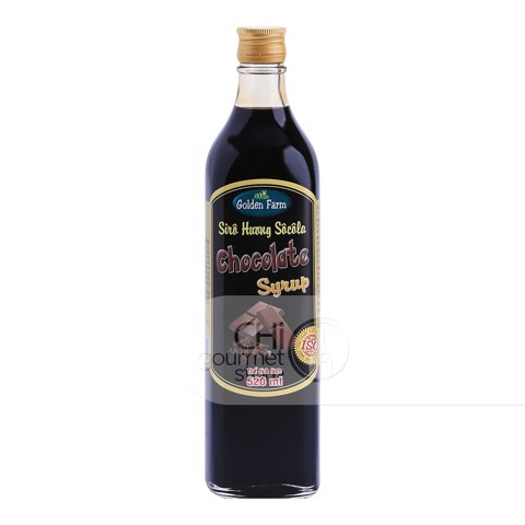 Syrup Socola 520ml - Golden Farm