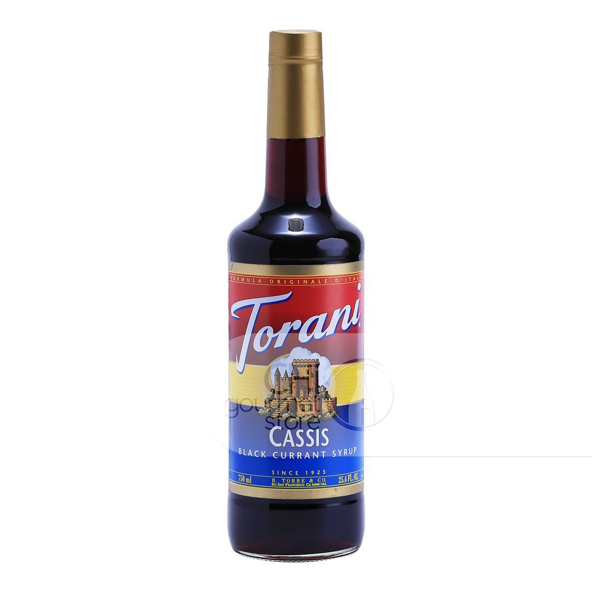 Syrup Cassic Black Currant 750ml - Torani
