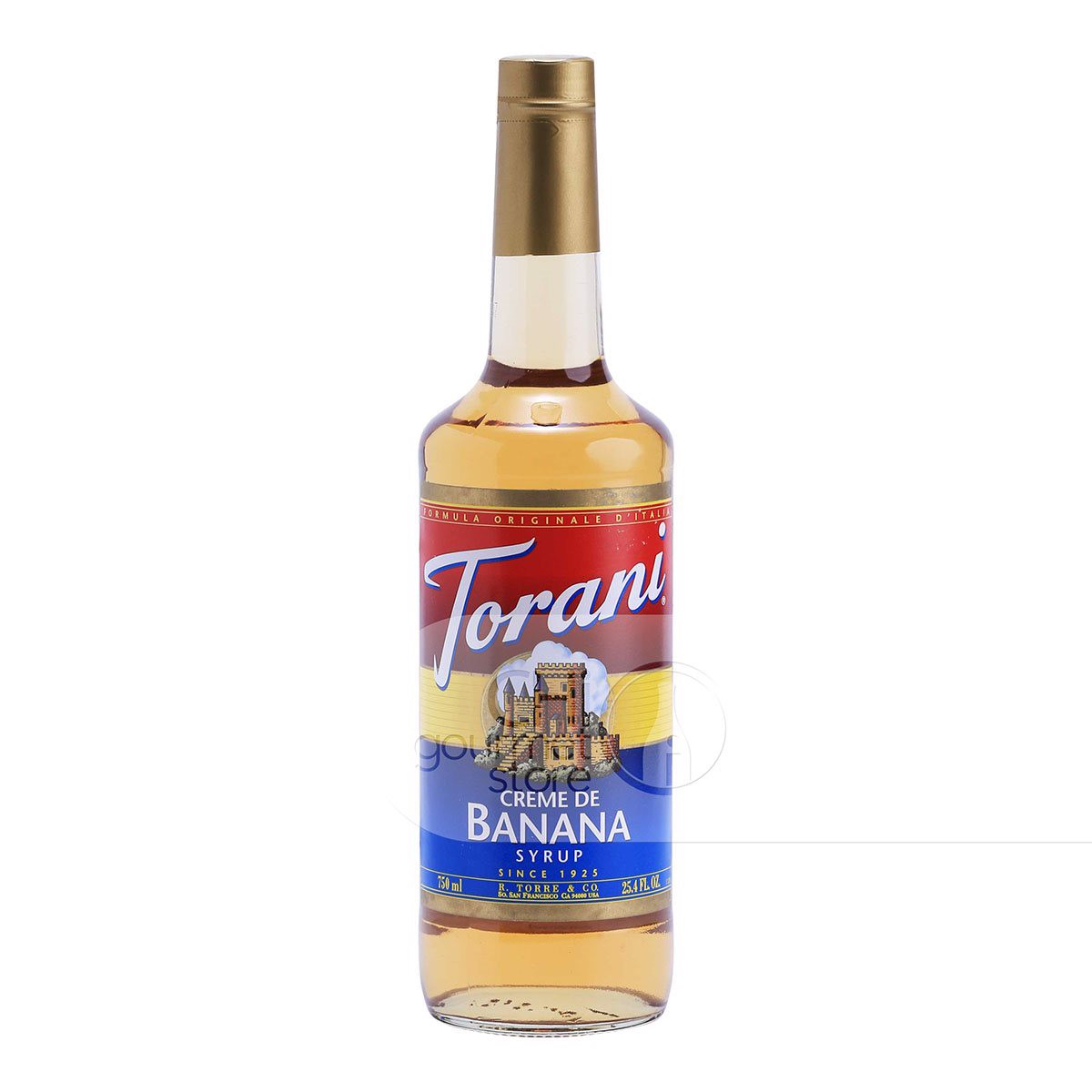 Syrup Cream De Banana 750ml - Torani