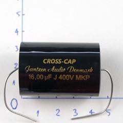 Tụ 16uF 400VDC Cross Cap