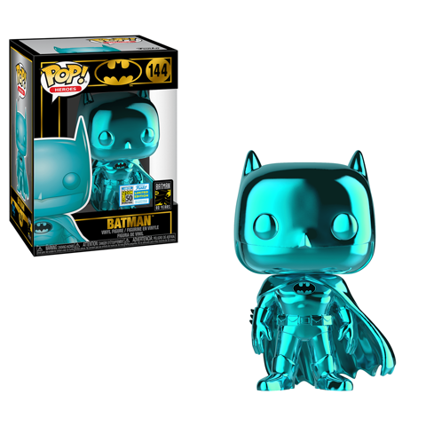 POP Heroes: Batman - Batman Teal SDCC 19 40097