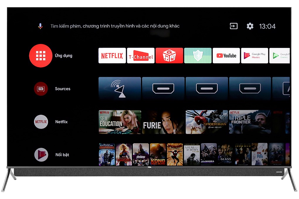 Android Tivi QLED TCL 4K 65 inch 65C815