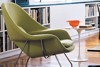 Combo Tulip Cafe Table & Womb chair