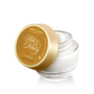 32543 oriflame – Kem ban đêm Milk & Honey Gold