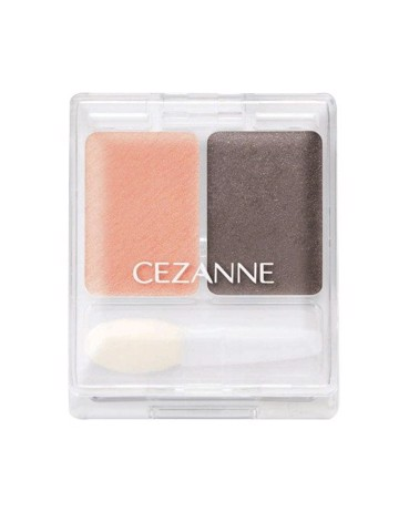 Phấn mắt Cezanne Two-Color Eyeshadow Lame Series