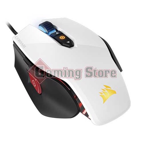 Corsiar M65 PRO RGB FPS Gaming Mouse — White (AP)