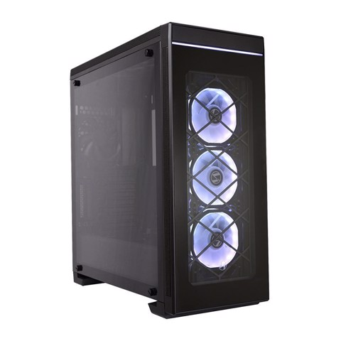 LIAN LI PC-ALPHA 550X Black SECC ATX Mid Tower