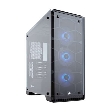 Case Corsair 570X RGB Crystal Series Tempered Glass