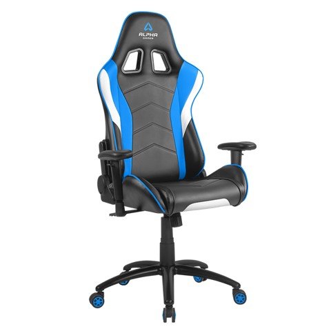 ALPHA GAMER DELTA - BLACK/WHITE/BLUE