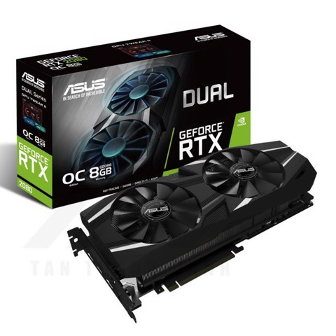 ASUS Dual Geforce RTX 2080 OC Edition 8G Graphic Card