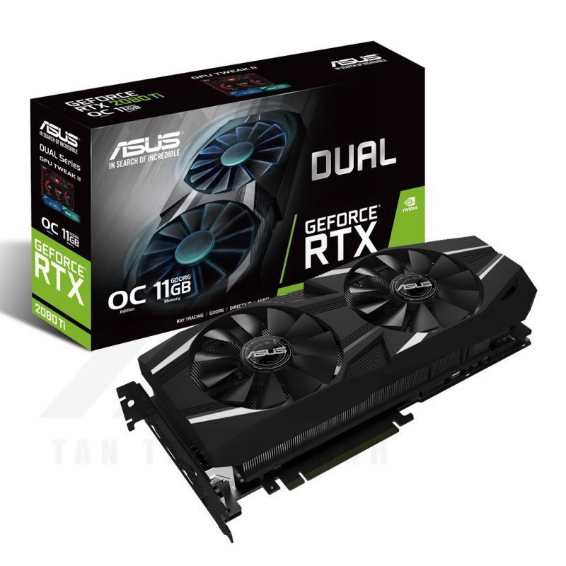 ASUS Dual Geforce RTX 2080Ti OC Edition 11G Graphic Card