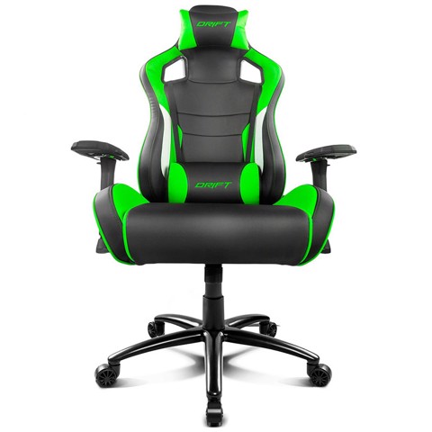 ALPHA GAMER DRIFT - DR400 (BLACK -  GREEN)
