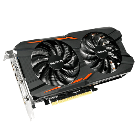 GIGABYTE GeForce® GTX 1050 Ti WindForce OC 4GB GDDR5 128bit