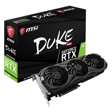 MSI Geforce RTX 2080 DUKE 8G OC Graphic Card