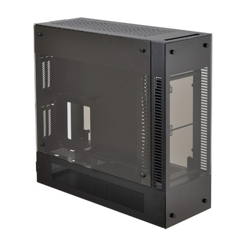 LIAN LI PC-O12WX Black Outside Aluminum
