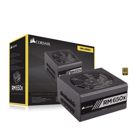 Corsair RM650X 80 Plus GOLD