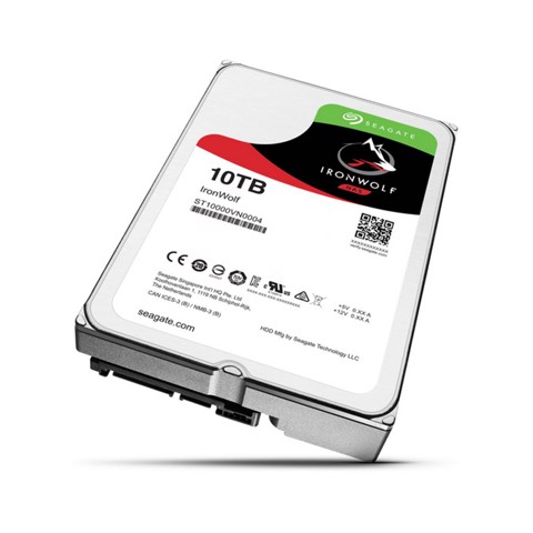SEAGATE IRONWOLF 10TB