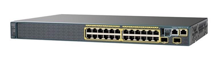 Switch Cisco WS-C2960S-24TS-S