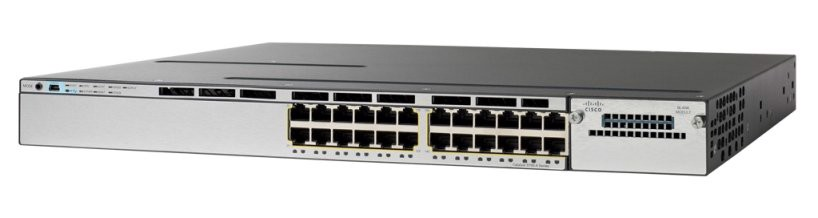 Switch Cisco WS-C3750X-24PS-S