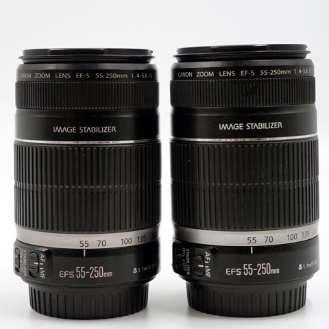 lens Canon EF-S 55-250mm f/4-5.6  (QSD, 95%