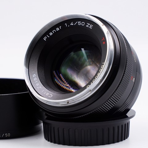 Lens Carl Zeiss 50mm F/1.4 Planar for Canon ( QSD 97% )
