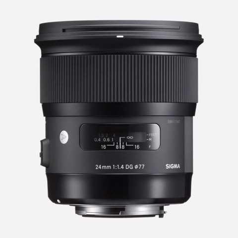 Lens Sigma 24mm F/1.4 DG HSM Art for Canon