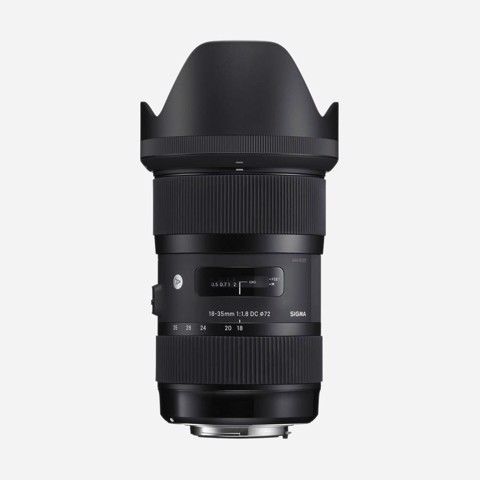 Lens Sigma 18-35mm F/1.8 DC HSM Art for Nikon DX