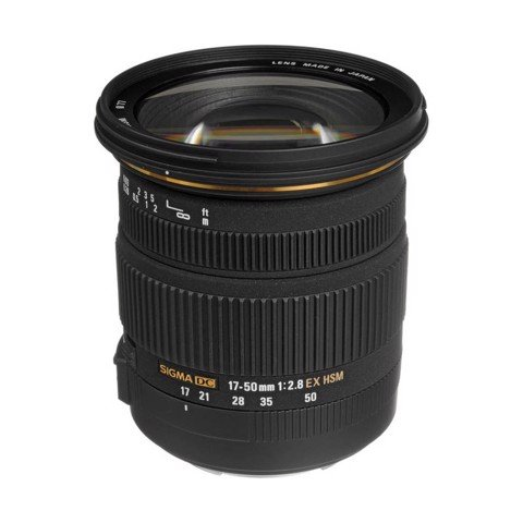 Lens Sigma 17-50mm f/2.8 EX DC OS HSM for Canon