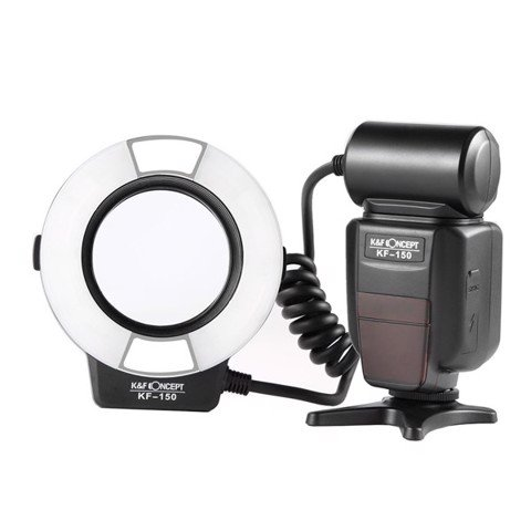 Đèn flash chụp Macro K&F Concept KF-150 TTL for Nikon