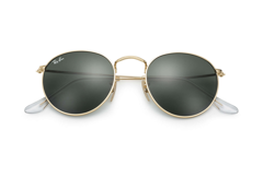 Ray-ban round metal - Gold green classic G-15