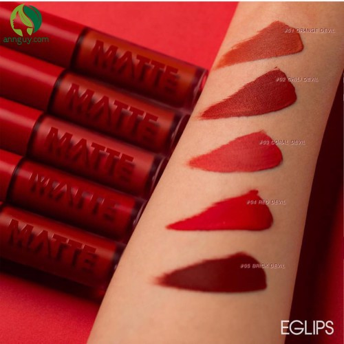 Son kem Eglips Matte Fit Lip Lacquer Màu 05 Brick