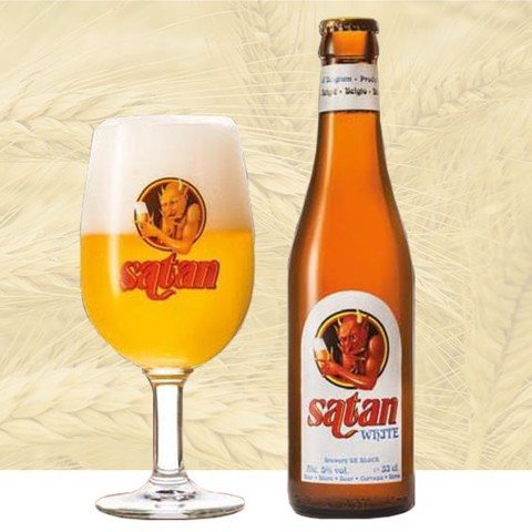 Bia Satan White 330ml