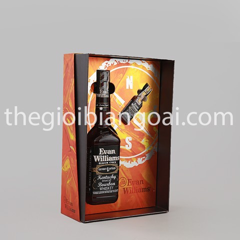 Set Wishkey Mỹ Evan Williams Bourbon
