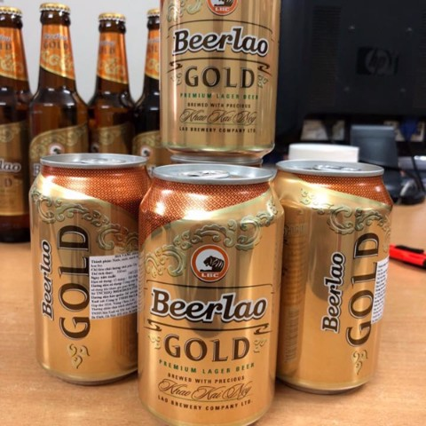 Beer LAO GOLD