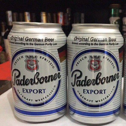 Bia Đức Paderborner Export Original German Beer lon 330ml