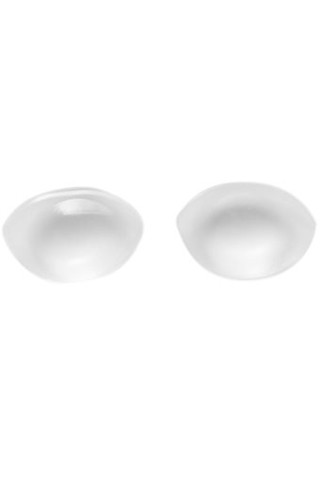 1 Pair 3D Silicone Reusable Breast Bust Enlargement Enhancers Bra Gel Pads Inserts Fake Boobs Transparent