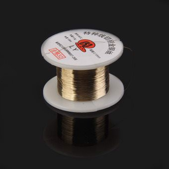 0.10mm Alloy Cutting Line Wire for Separate Mobile Phone Screen Panel LCD (Gold)