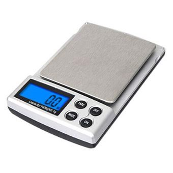 0.1g / 1kg LCD Digital Pocket Weight Scale Jewelry Diamond Balance Scale