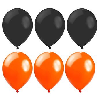 1 Pack 10 inch Large Giant Circular Latex Balloon for Halloween Christmas Party Decoration Random Color