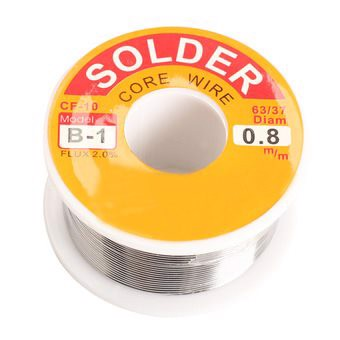 0.8mm New Tin Lead Tin Wire Melt Rosin Core Solder Soldering Wire Roll