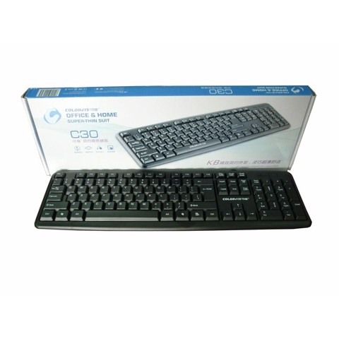 Keyboard COLOVIS-C30 USB